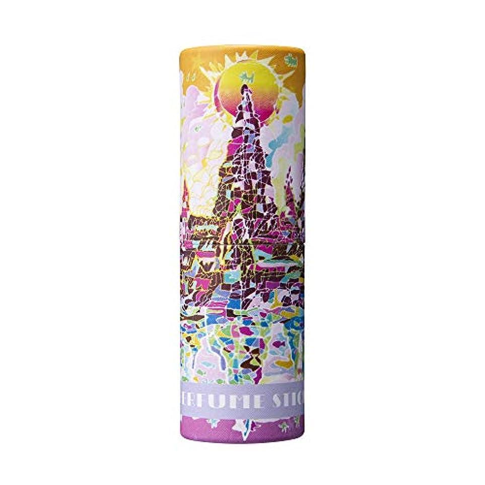 正確な前者古風なパフュームスティック ドリーム ペア&ピーチの香り 世界遺産デザイン 5g