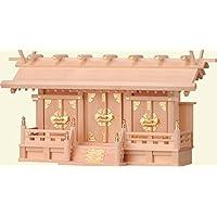 尾州檜 ひのき 檜製 神棚 特撰神殿 明治 (扉金具) (大) 上級品 日本製