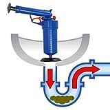 JOYOOO加圧式吸引ポンプ浴室排水口のつまりを除去・洗面排水用