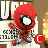 MTACET マグネット9と人形自動車装飾品を振るアクションフィギュアのマーベルスパイダーマンQバージョン ( Color : 4 )