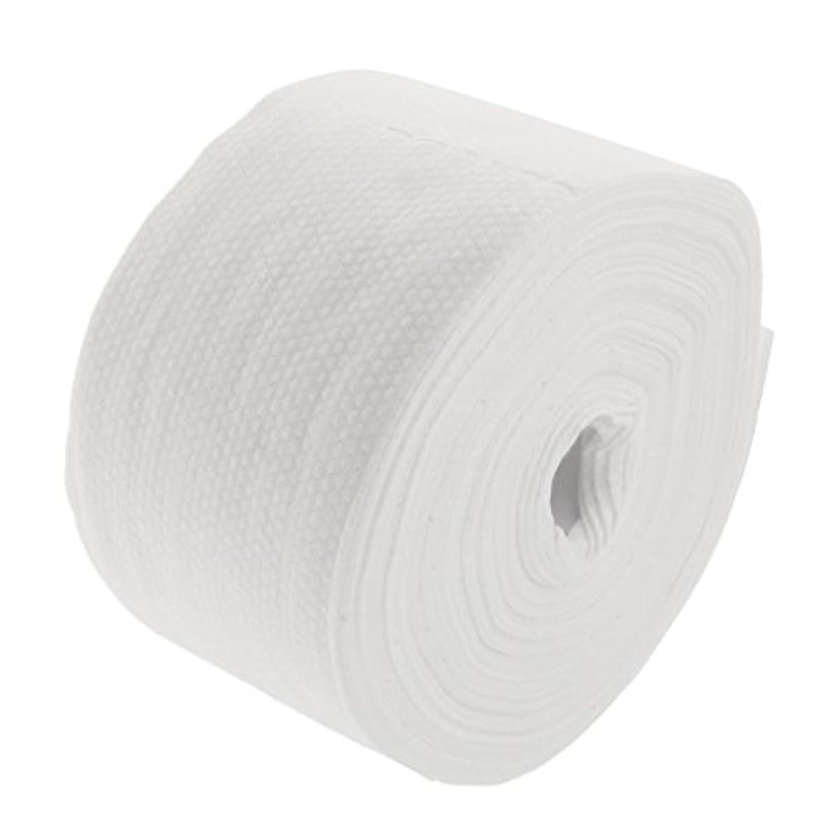 コットン震えたるみDYNWAVE 30メートルの使い捨て可能な綿タオル繊維クレンジングフェイシャルワイプメイク落とし