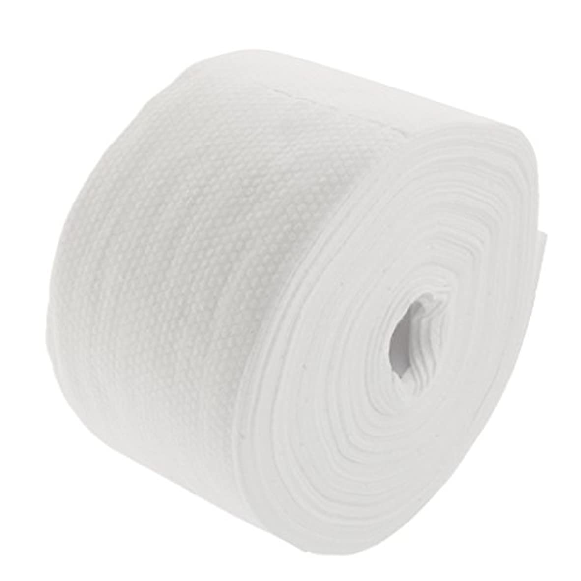 やろう頼る暗記するロール式 使い捨て フェイシャルタオル 30M 使い捨てタオル 繊維 クレンジング フェイシャル メイクリムーバー 2タイプ選べる - #2