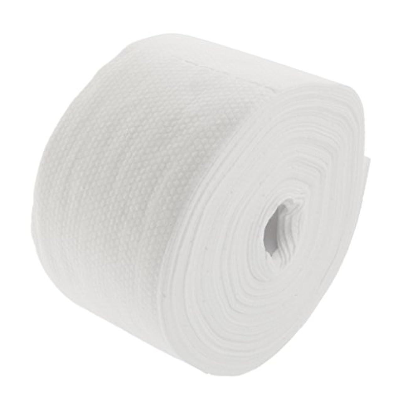 技術チューリップ歩行者Perfeclan ロール式 使い捨て フェイシャルタオル 30M 使い捨てタオル 繊維 クレンジング フェイシャル メイクリムーバー 2タイプ選べる - #2
