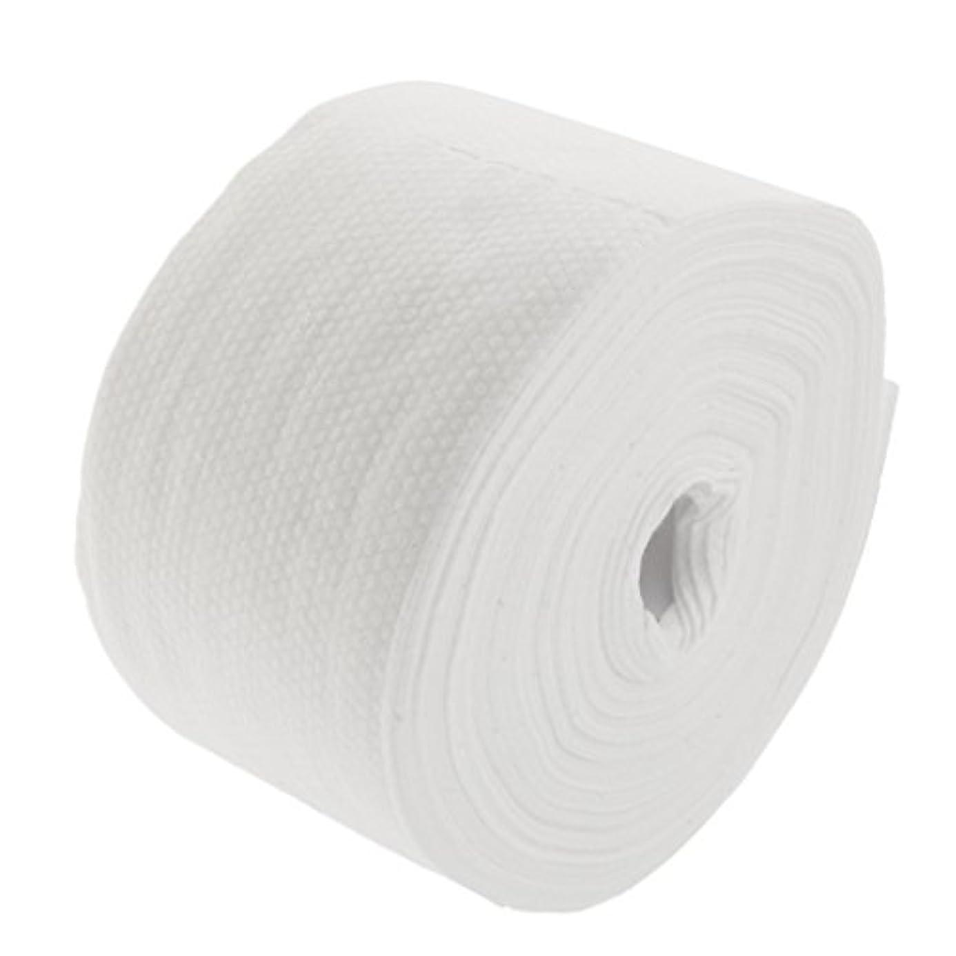 不定コンパクトミル30メートルの使い捨て可能な綿タオル繊維クレンジングフェイシャルワイプメイク落とし - #2
