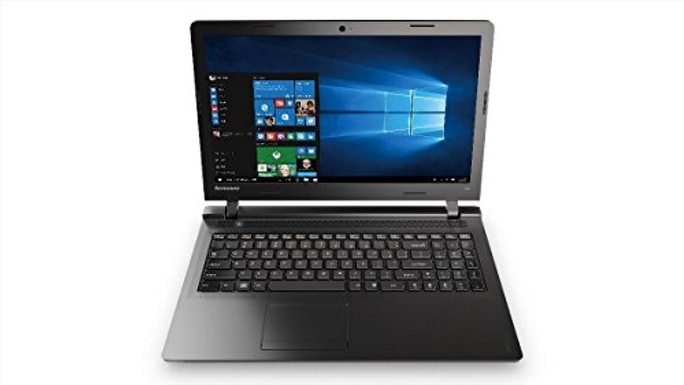 エンゲージメント汚れる慰めキングソフトオフィス付属 / Lenovo ノートパソコン IdeaPad 100 / Windows 10 Home 64bit / 15.6インチ / Celeron 3215U / エボニーブラック