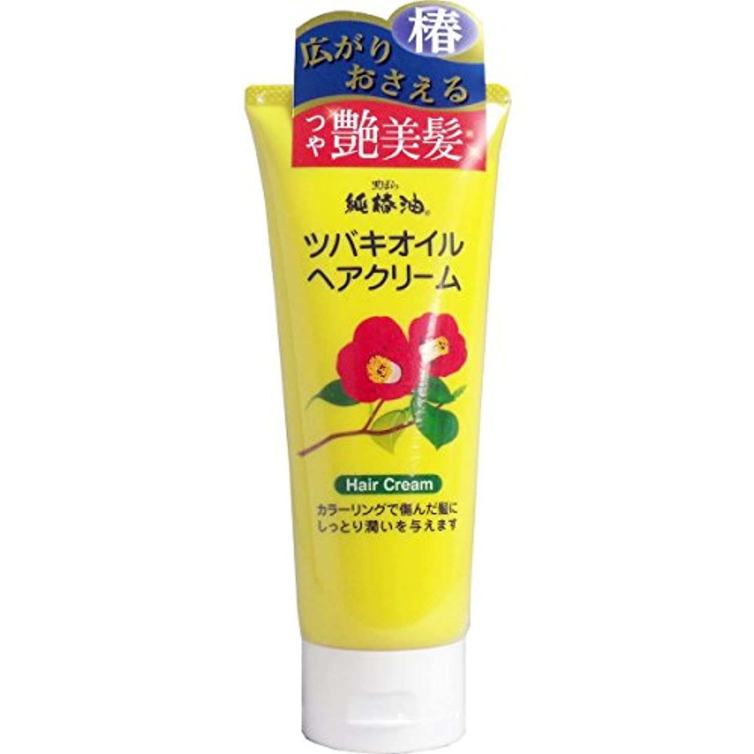 貨物リビングルーム角度【まとめ買い】黒ばら純椿油 ツバキオイルヘアクリーム 150g ×2セット