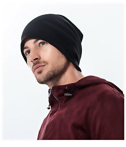 Corettle ニット帽 ワッチキャップ 生地起毛 メンズ レディース ランニング 帽子 オールシーズン ビーニー アウトドア シンプル 無地 男女兼用 吸汗(全4色)