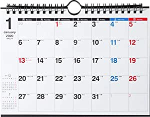 高橋 2020年 カレンダー 卓上 A5 E106 ([カレンダー])