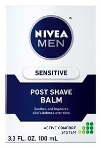 【海外直送】 男性用ニベア 敏感肌用 アフターシェーブバーム(100ml) Nivea for Men Sensitive Post Shave Balm (3.3oz)