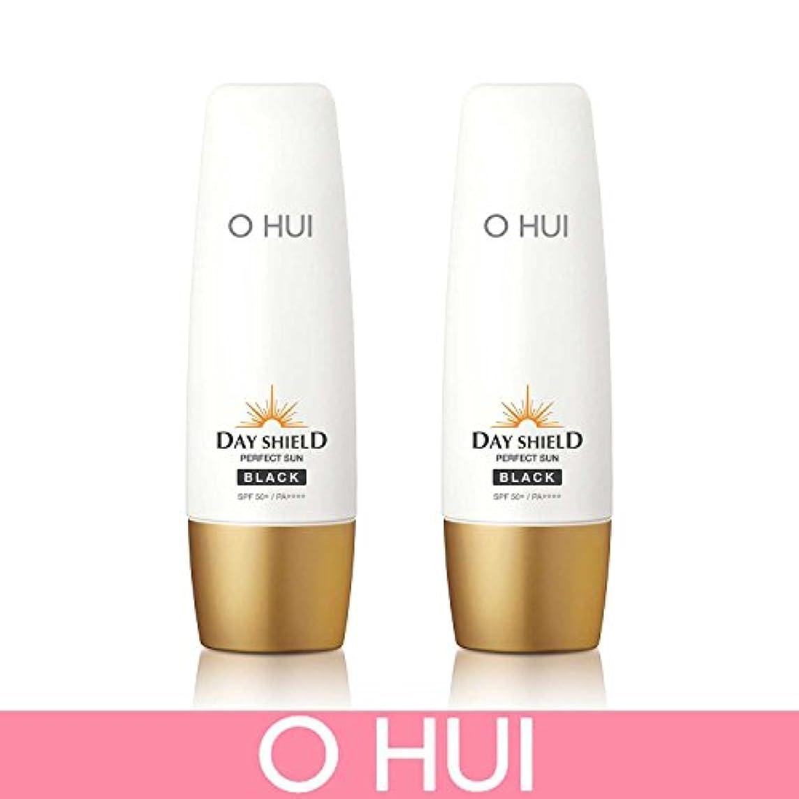謝る放棄するチート[オフィ/ O HUI]韓国化粧品 LG生活健康/ ERFECT SUN BLACK DUO /日焼け止め (SPF50+/PA+++) 50ml +50ml +[Sample Gift](海外直送品)