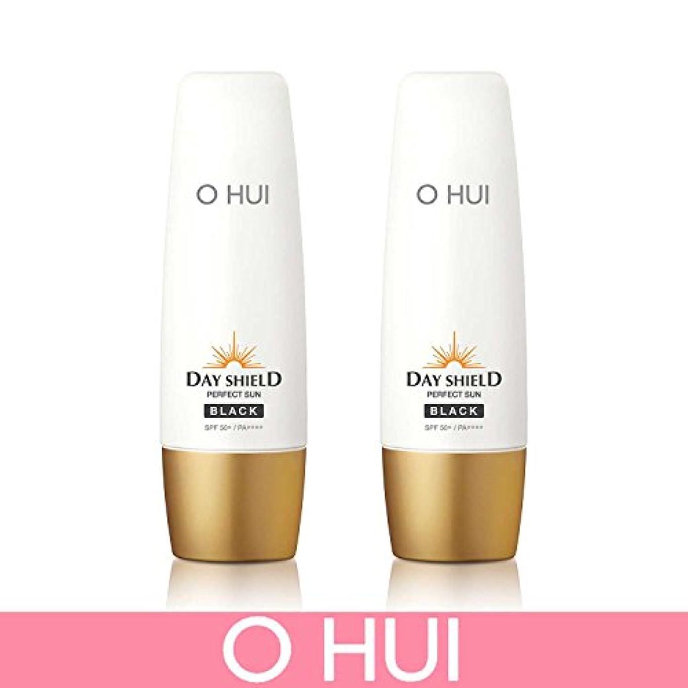 絶妙彼らのブリリアント[オフィ/ O HUI]韓国化粧品 LG生活健康/ ERFECT SUN BLACK DUO /日焼け止め (SPF50+/PA+++) 50ml +50ml +[Sample Gift](海外直送品)