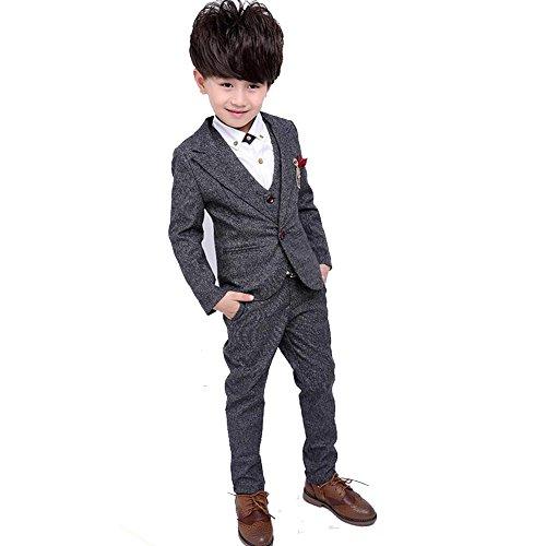 53ddaf790fea5 セット内容:ジャケット+ズボン+ベスト+シャツ、(贈り物:ジャケットにつけるブローチ 1、シャツにつけるブローチ 1) ☆  華やかなデザインなので... ...