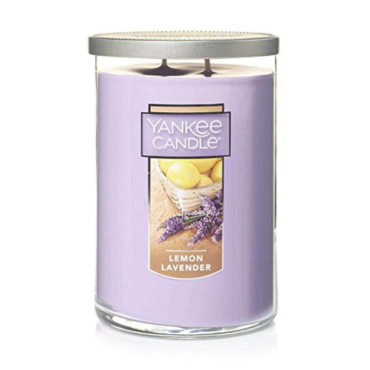 言う雲伝説Yankee Candle Jar Candle、レモンラベンダー Large 2-Wick Tumbler Candle 1292462z