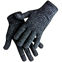 Natureliving possum merino gloves (Graphite)