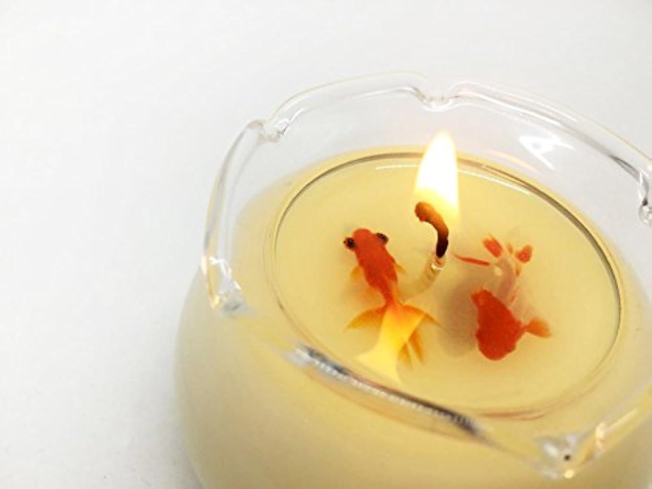 すべき賄賂傾いたSAFC-summer Soy Aroma Fish Candle summer(蘭) SAFC-summer