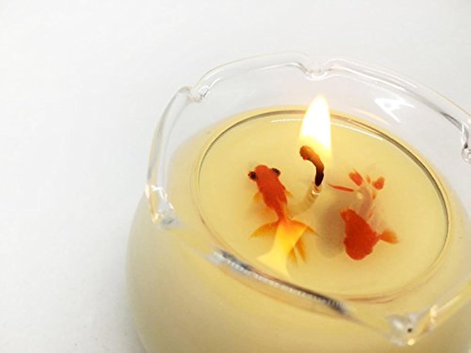 恐怖下に向けます期限SAFC-summer Soy Aroma Fish Candle summer(蘭) SAFC-summer