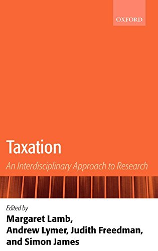 Download Taxation: An Interdisciplinary Approach To Research 0199242933