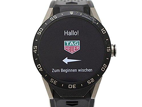 [タグ・ホイヤー] TAG HEUER コネクテッド ウォッチ 腕時計 ブラ...