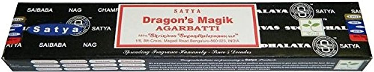 誇張内部頑丈Satya Sai Baba Dragon 's Magik Boxed Incense STI。。。