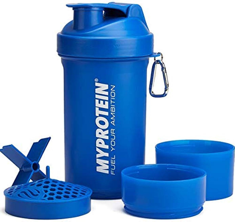 フィッティング腸物質マイプロテイン スマートシェイク シェイカー ラージ 800ml(ブルー)