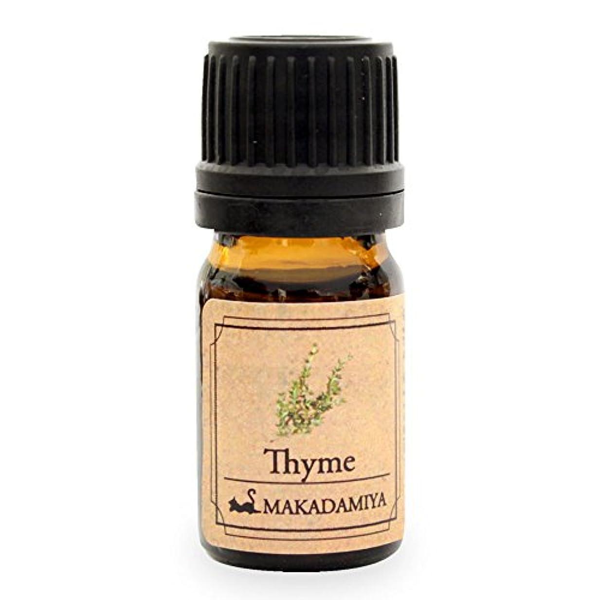 重要性意気揚々暴露するタイム10ml 天然100%植物性 エッセンシャルオイル(精油) アロマオイル aroma Thyme