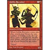 Magic: the Gathering - Goblin Recruiter - Visions by Wizards of the Coast [並行輸入品]