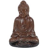 Benzara Meditating Buddha SittingセラミックStatue