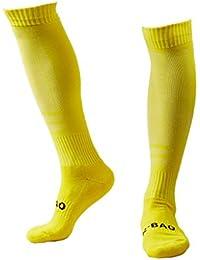 サッカーソックス ニーハイタオルボトム フットサル プラクティスストッキング 靴下 ユニセックス 1/5 足入り