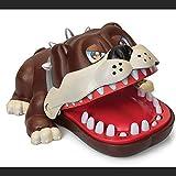 いたずらトイ 漫画の運の犬の歯科医は指のおもちゃを噛んでクリエイティブなトリッキーなパーティーの家族のゲーム