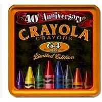 Crayolaクレヨン64 Tinボックス40th Anniversary Limited Edition