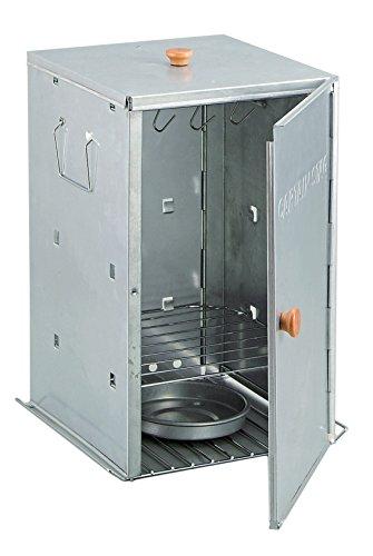 キャプテンスタッグ バーベキュー BBQ用 燻製器 アドバンス折りたたみスモーカー スモーク対応M-6547