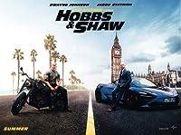 映画ポスター ワイルドスピード スーパーコンボ ホブスアンドショウ Hobbs & Shaw US版 hi2 [並行輸入品]