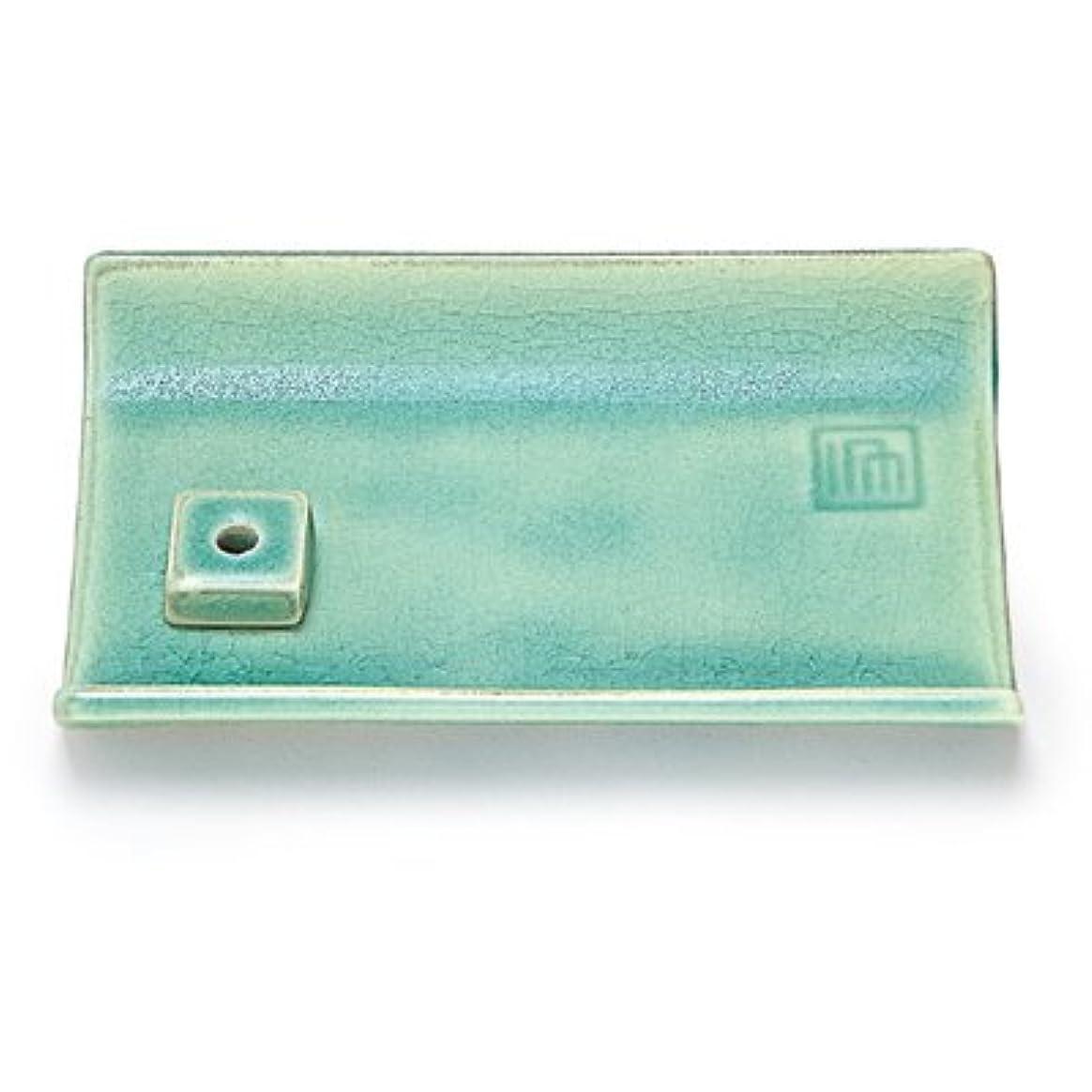スチュワーデスバッグ解き明かす縁 香皿 青磁色