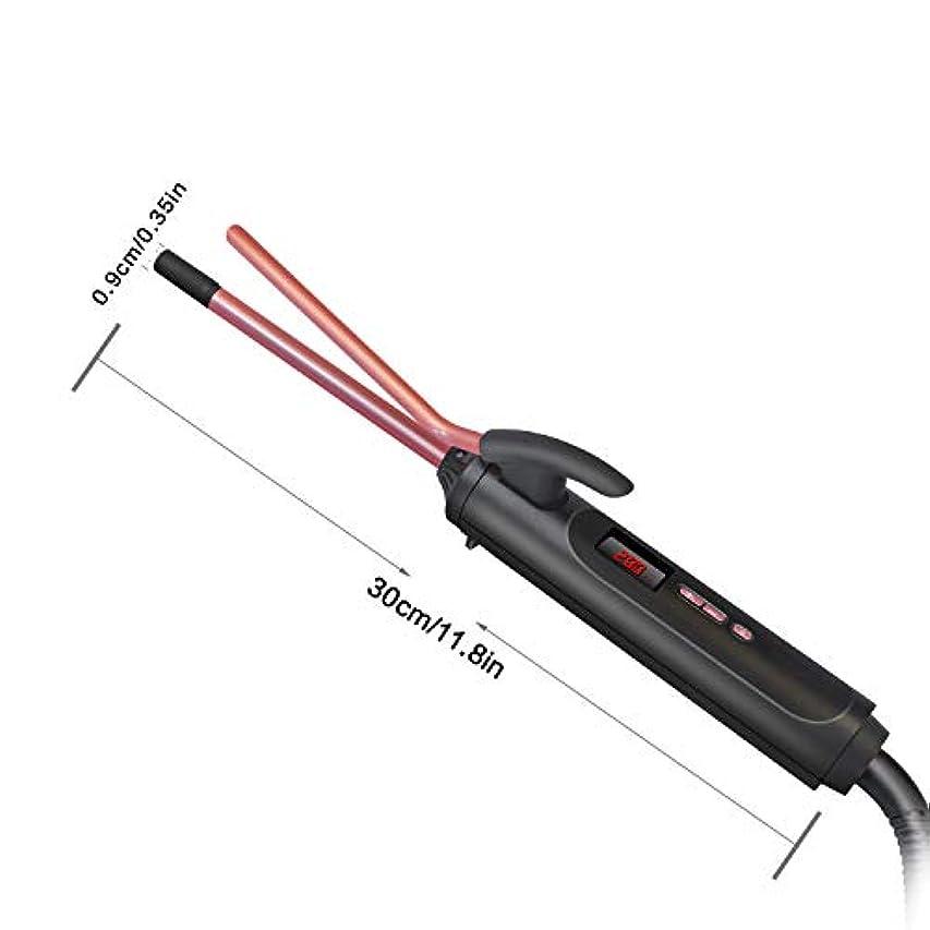 シャービザ冒険者セラミック板と毛のストレート、1ストレートヘアアイロンやカーラーで2、温度制御とプロのヘアストレート,9MM