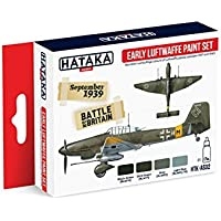 Hataka Hobby Early Luftwaffe paint set AS02