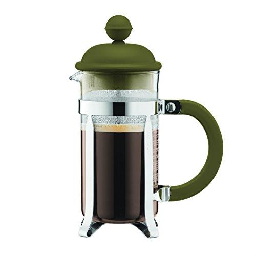 BODUM ボダム CAFFETTIERAカフェティエラ フレンチプレスコーヒーメーカー 350ml オリーブカラー 1913-947B-Y17