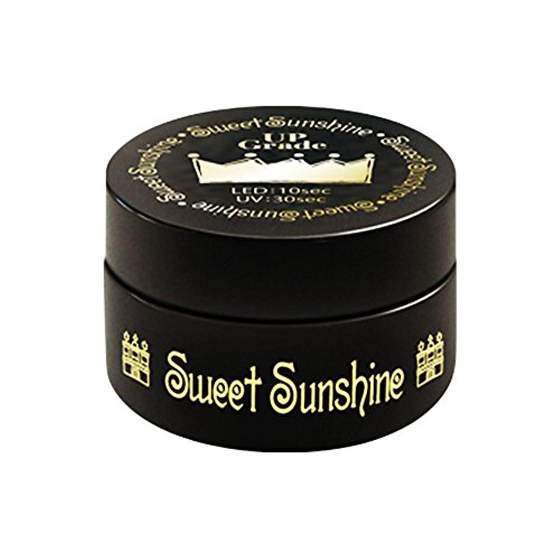 人に関する限り厚いオートSweet Sunshine ベースジェル 4g UV/LED対応