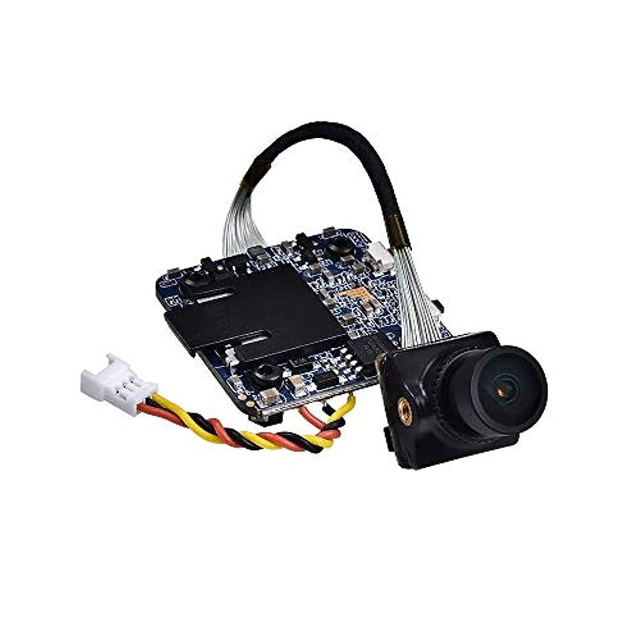 対抗コンドーム教養があるドローン用HDカメラ 1080P 60fpsのHD録画WDR低レイテンシー16:9/4:3 NTSC/PAL切り替え可能FPVカメラのRCドローン (色 : ブラック, サイズ : 1080P 60fps)