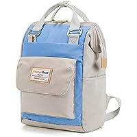 CXQ ファッションシンプルワイルドレディバックパックカレッジキャンパスバックパックコンピュータバッグトラベルブルーバックパック