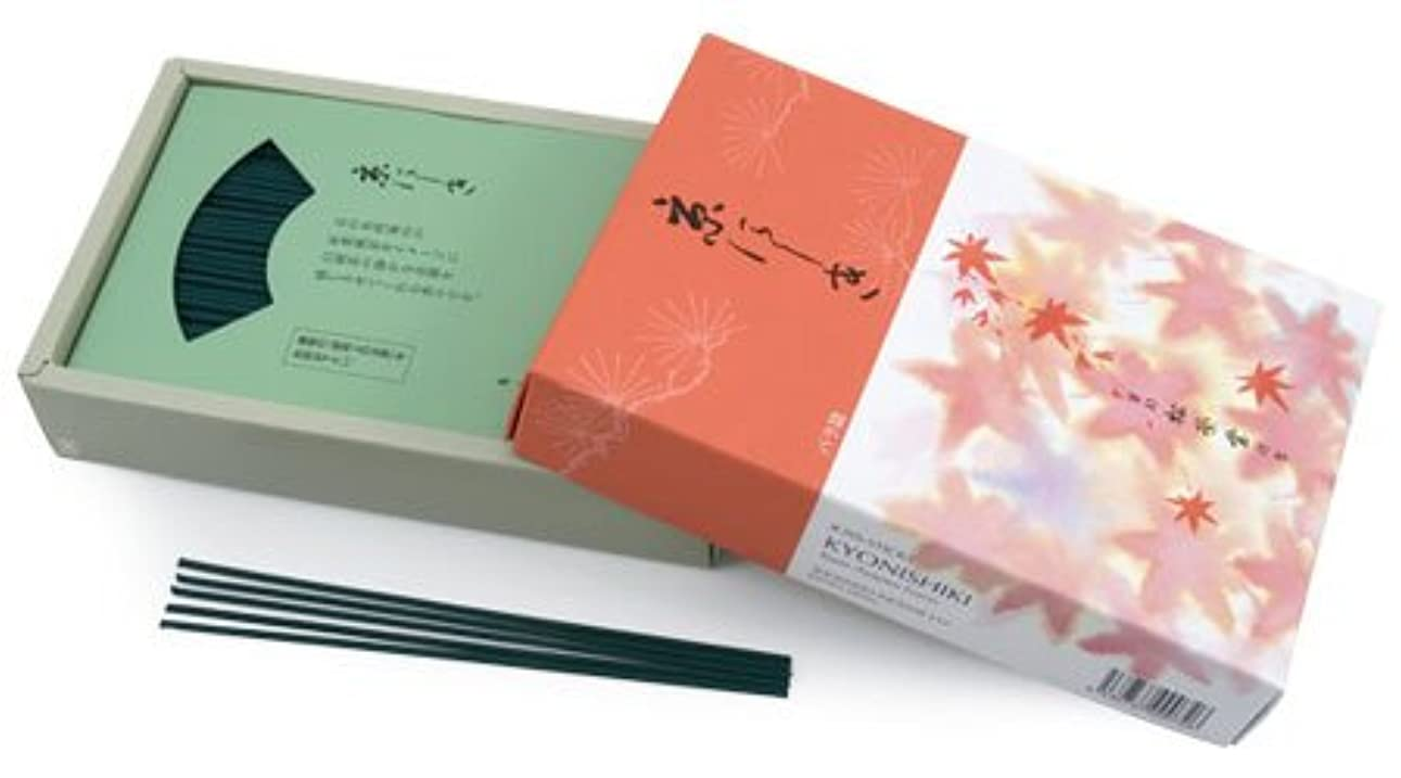肖像画熟すよろめくShoyeido's Kyoto Autumn Leaves Incense, 450 Sticks - Kyo-nishiki, New, Free Ship