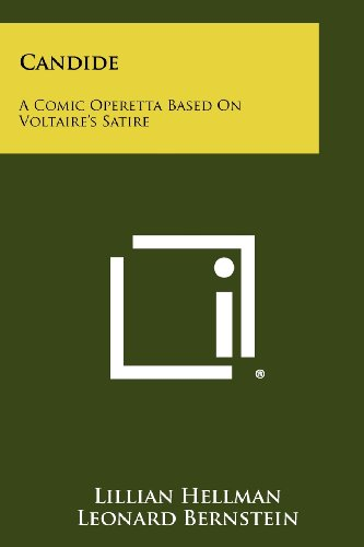 Download Candide: A Comic Operetta Based On Voltaire's Satire 1258275708