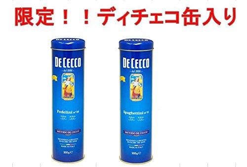 RoomClip商品情報 - 限定缶!!ディチェコ 缶入りスパゲティ 500g (フェンデリー二1.4mm)
