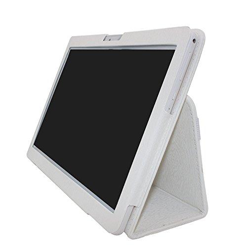 beista k107シリーズ10.1インチレザーケースfor 3G / 4gタブレット ホワイト C107-W