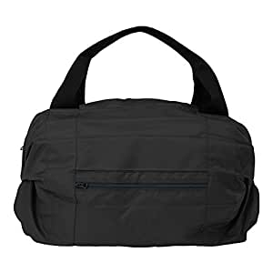 Shupatto(シュパット) ボストンバッグ (コンパクトバッグ・エコバッグ・携帯バッグ・旅行 603605(サイズはありません ウ:ブラック)