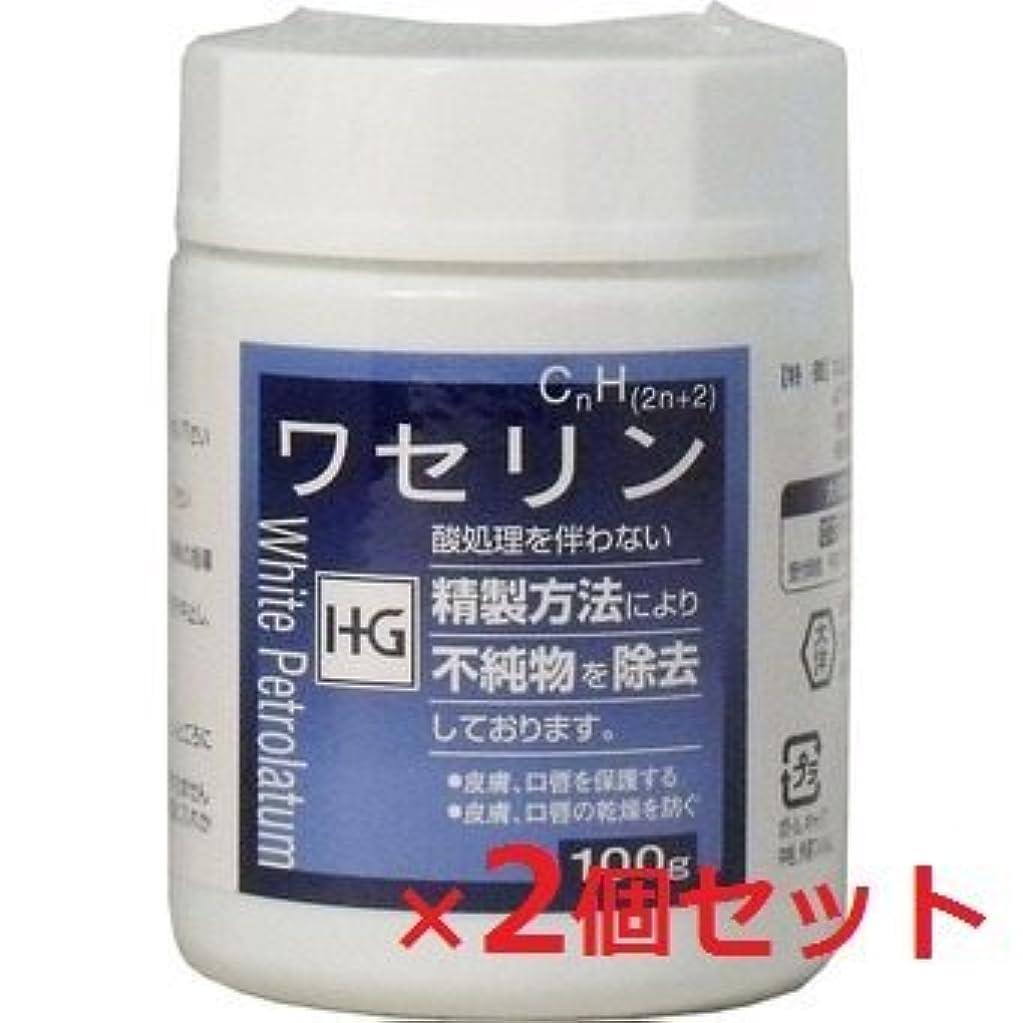 ペルメル気分が良い区別するワセリンHG 100g 2個セット