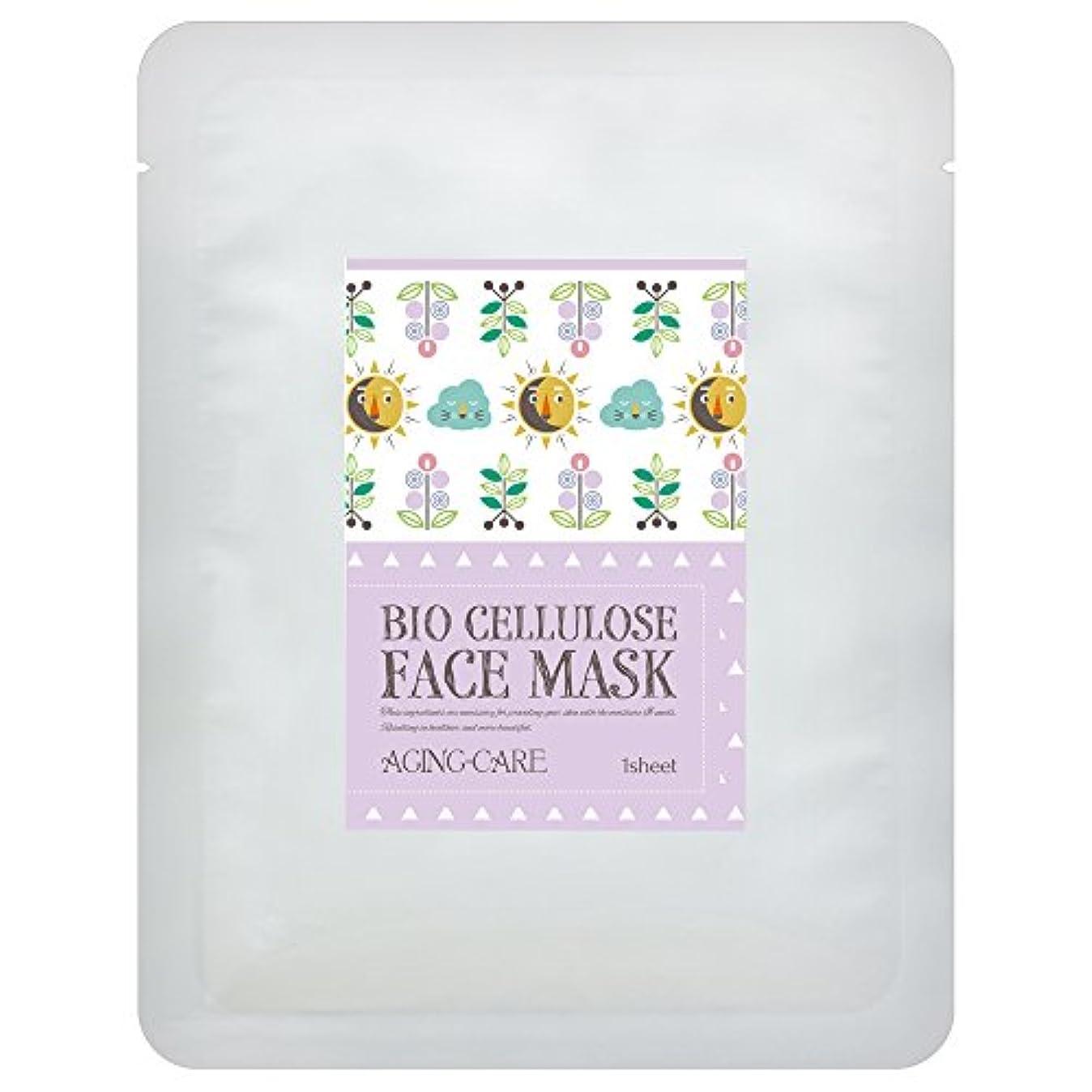新しさ思い出分布日本製バイオセルロース フェイスマスク ANTI-AGE(エイジングケア) 1枚