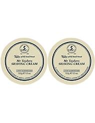 TAYLOR OF OLD BOND STREET Mr. Taylor Shave Cream Bowl 150g (Pack of 2) by Taylor of Old Bond Street