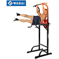 WASAI(ワサイ) ぶら下がり健康器 懸垂マシーン MK580 耐荷重150kg 筋肉トレーニング 器具