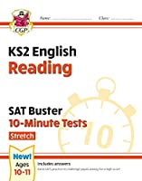 New KS2 English SAT Buster 10-Minute Tests: Reading - Stretch (for the 2020 tests)