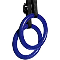 vibola Gymnastic Rings forフルボディ強度とMuscular Bodyweightトレーニング L レッド Vibola®25